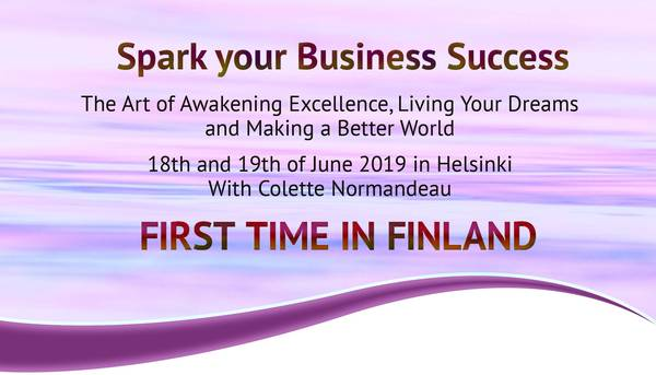 Spark your Business Success 18.-19.6.2019 Helsinki